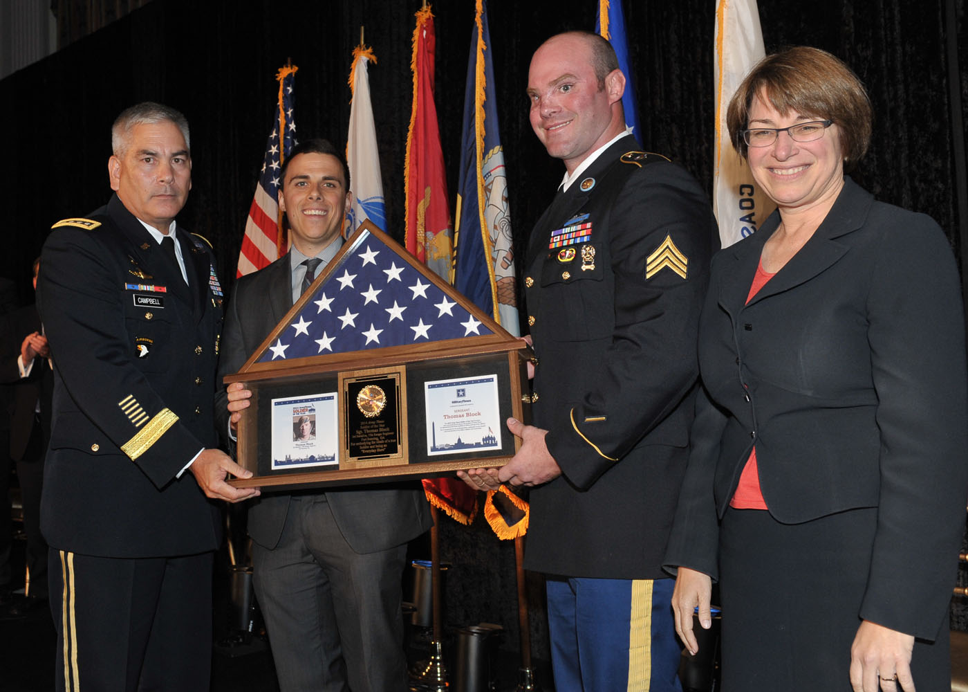 Servicemen Of The Year :: 2014 Military Times Service
